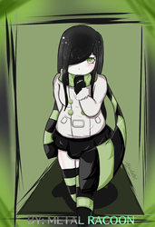 Aria Wintermint from: The crawling city by metalracoon