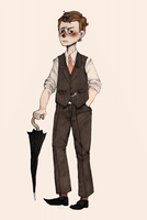 SH: Young Mycroft Holmes by cannorachan