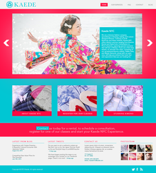 Kaede Website by CreativeSteam