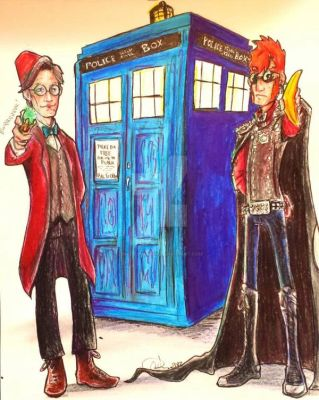 The Doctor and The Ginger by Inked-Phoenix
