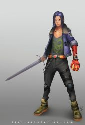 Trunks Redesign by ijul