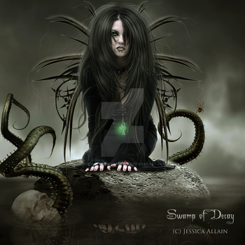 Swamp of Decay by EnchantedWhispersArt
