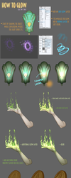 How To Create Glowing Effects by Batwynn