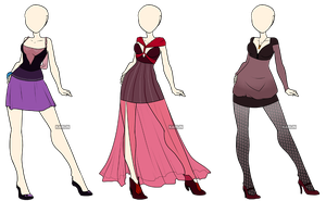 Fashion Adoptables 4 - CLOSED by Karijn-s-Basement