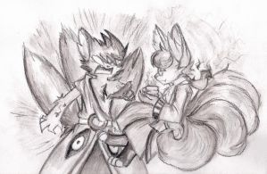 Kitsune Brothers by Thwill