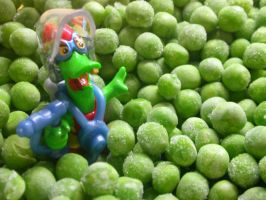pea macro 02 by tiffgraphic