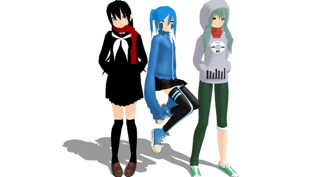 MMD WIP!!! by Vocaloidfan33