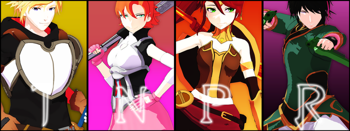[ MMDxRWBY ] Team JNPR [ UPDATED // +DL!] by rxsilience