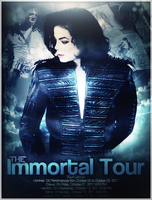 Michael Jackson- Custom Tour Poster. by xWindsOfChangex