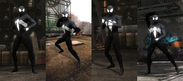 DOA5LR Mod: Spider-Man Symbiote by repinscourge