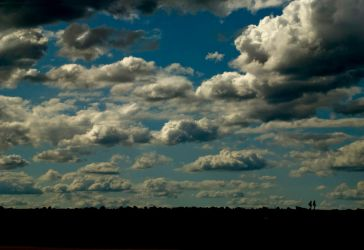Clouds over head by The-name1ess