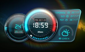 Neon Gauge Widget 2 for xwidget by Jimking