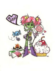 Zombie Candy by the-only-halo