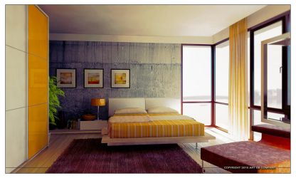 PLH Master Bedroom by GorgeB