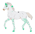 N3056 Padro Foal Design for Tamia-Grey by casinuba