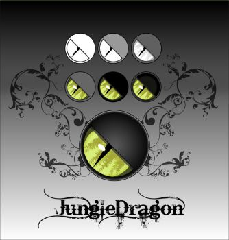 Jungle Dragon Logo Map by fchristant