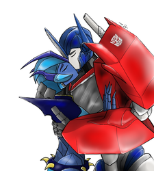Wave and the Prime (Commission) by joselyn565