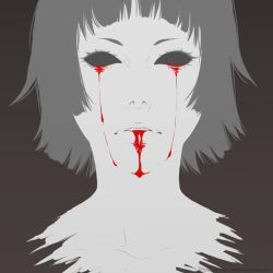 Tears of blood by xDream-Candy