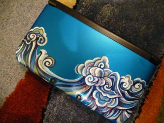 Painted 3DS by yurionna
