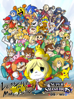 SUPER SMASH BROS for 3DS! by dlrowdog