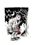 JASON FRIDAY THE 13TH by drawhard