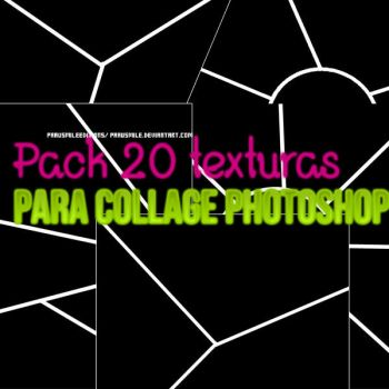 Pack 2O texturas collage para Ps by PaauSmile