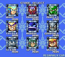 Stage Select Screen by MegaPhilX
