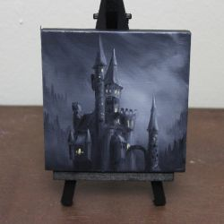 Mini Spooky Castle by crazycolleeny