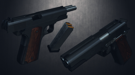 [MMD] Arsenal Firearms AF2011A1 for DL by AbyssLeo