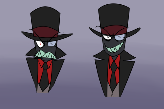 Villainous: Black hat practice by Red-Fox92