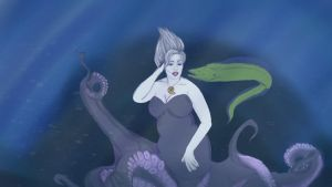 Ursula the Sea Witch  by Everydayamazon