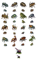 Some Bugs by AlbertoV