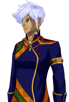 Ace Attorney OC - Ah'yung Upst'aat by SuperAj3