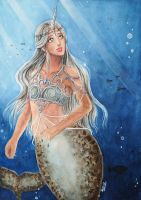 The Narwal Mermaid Princess by AyoraPics