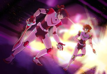 Boom B*tches. (Voltron) by KT-ExReplica