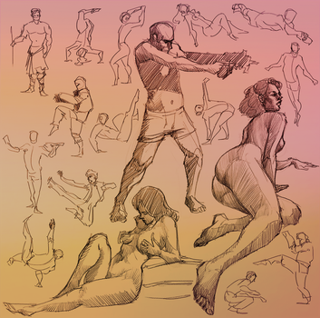 Daily Gesture 228 by abrahamdavid