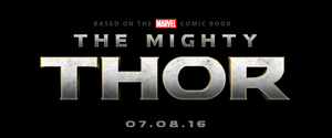 THE MIGHTY THOR (THOR III) - LOGO by MrSteiners
