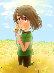 Flowers are Blooming - Undertale by partydance252