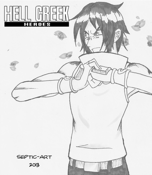Hell Creek Heroes - Knuckle Cracking Rose by WritingGlasses