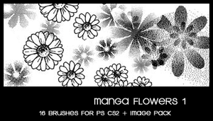 Manga Flower by deviantales