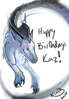 happy birthday kazulthedragon by phantos
