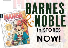 Manga Crash Course at Barnes and Nobles stores by Mistiqarts