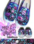 Jellyfish Shoes by artsyfartsyness