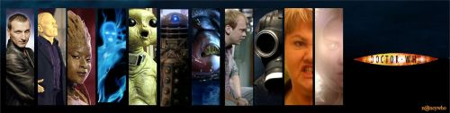 Doctor Who banner series 1 by nancywho
