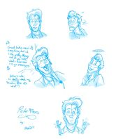 Many Faces of Peter by TDotBabs