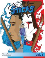 the front cover for sticks by titan9393