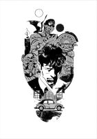 DYLAN DOG CRIME CITY COMICS by GigiCave