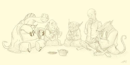 12 - Tea, Master? by LunchBreakTime