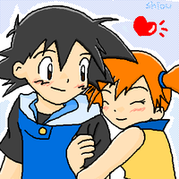 Ash and Misty by Shioulion