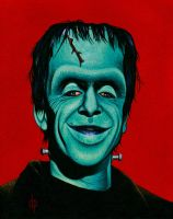 Herman Munster by DwaynePinkney